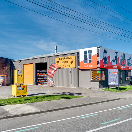 Austin Street industrial building managed by Independent Commercial Property Management